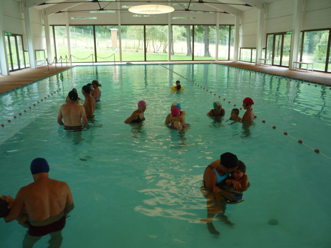 La piscina calda